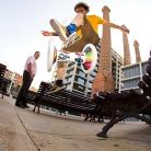 Mr. Hat - Tiptophocke / Barcelona / Foto: Stephan Landschütz