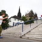 Hockeraxel & Philippo / Handrail / HockEurope Basel / SALZIG Sporthocker / Foto: Landschütz