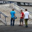 SL, Philippo & Hockeraxel / HockEurope Basel / SALZIG Sporthocker / Foto: Landschütz