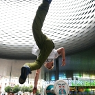Hockeraxel / Twisted Armstand 360°/ HockEurope Basel / SALZIG Sporthocker / Foto: M. Landschütz