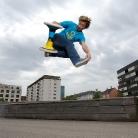 SL / Wirbelmethode Footgrab  / HockEurope Basel / SALZIG Sporthocker / Foto: M. Landschütz