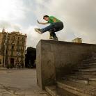 SL - Packungsrutsche / Barcelona / Foto: Hannes Roth