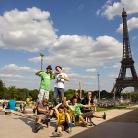 Die Crew in Paris / Paris / Foto: Fabian Schreiter