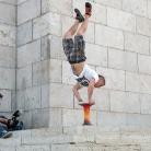 Philippo / Handstand / HockEurope Budapest / SALZIG Sporthocker / Foto: H. Roth