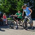 Sitting on BMX / Foto: K. Schmidt / SALZIG Sporthocker