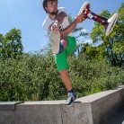 Hannes on the Block / Foto: M. Roth / SALZIG Sporthocker