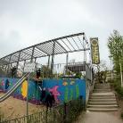 Da oben  / BMX- und Skatepark / Flensburg / Foto: Hockerrocker