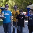 SALZIG Sporthocker Team: Fabi, ML, Alex, Dennis / Foto: Zoë Wilke