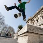 Josh / Underwirbelhocke / Foto: Stephan Landschütz / HockEurope / Rome