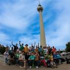 Die HockHart Crew am Alex / Photo: Katrin