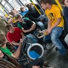 Strassenbahnhock / Foto: SALZIG Sporthocker / Berlin / HockHart Camp 2013