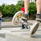Wheelie / Foto: SALZIG Sporthocker / Berlin / HockHart Camp 2013