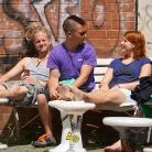 Chilling Crew / HockHart Camp 2014 / Foto: Wilke / SALZIG Sporthocker