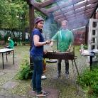 Grillen im Chip / HockHart Camp 2014 / Foto: Wilke / SALZIG Sporthocker