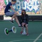 HockSi und Luka / HockHart Camp 2014 / Foto: Wilke / SALZIG Sporthocker