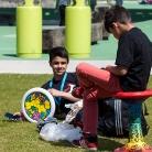 Kerim und Djamil / HockHart Camp 2014 / Foto: Wilke / SALZIG Sporthocker