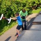 Leo und ML / HockHart Camp 2014 / Foto: Wilke / SALZIG Sporthocker