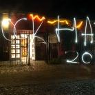 Light graffiti / HockHart Camp 2014 / Foto: Roth / SALZIG Sporthocker