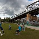 H.O.C.K. René Tabouret vs. Hockaweser / HockHart Camp 2014 / Foto: Roth / SALZIG Sporthocker