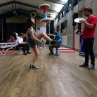 H.O.C.K. Zoe vs. Hannes / HockHart Camp 2014 / Foto: Wilke / SALZIG Sporthocker