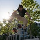 Nico haut einen raus... / HockHart / SALZIG Sporthocker / Photo: Marc Pätznik