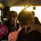 Die Crew im Bus / HockHart / SALZIG Sporthocker / Foto: Stephan Landschütz