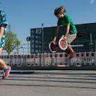 Zoe & Hannes / HockHart / SALZIG Sporthocker / Foto: Michael Landschütz