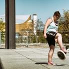 Ulli / HockHart / Neue Nationalgalerie / SALZIG Sporthocker / Foto: Marcus Breitfeld