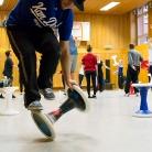 TJ / Die Rote Hosen / SALZIG Sporthocker / Foto: Wilke