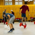 Wheelie / Die Rote Hosen / SALZIG Sporthocker / Foto: Wilke