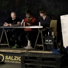 Die Jury: Lenny, Hannes und Isi / King of Hock 2014 / SALZIG Sporthocker / Foto: Susanne Wilke