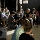 Die Crew / King of Hock 2014 / SALZIG Sporthocker / Foto: Susanne Wilke