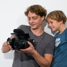 Vater und Sohn / King of Hock 2015 / SALZIG Sporthocker