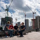 London Crew / HockEurope / SALZIG Sporthocker / Foto: S. Wilke