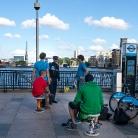 Cops in London / HockEurope / SALZIG Sporthocker / Foto: S. Wilke