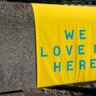 WE LOVE IT HERE / Southbank / HockEurope / SALZIG Sporthocker / Foto: S. Wilke