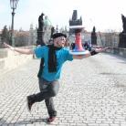 Max Madhock in Prag