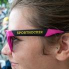 Pinke Sportbrille / Munich Mash / SALZIG Sporthocker / Foto: Hanna Wilke