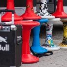 Red Bull, Sporthocker und Sonne! / Obernbreit / Foto: Susanne Wilke