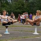 Yoga Session / Pangea Festival / SALZIG Sporthocker / Photo: Michael Landschütz