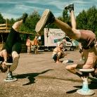 Marc P & Josh / Pangea Festival / SALZIG Sporthocker