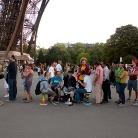 In der Schlange sitzen... / Paris / Foto: Hannes Roth
