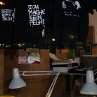 Hoddies, Shirts.... / Ausstellung und Verkauf / SALZIG Shop Kopernikusstr. 25 in Berlin