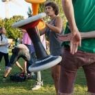 Radioeins Parkfest am Gleisdreieck / Salzig Sporthocker / Foto: Fanny Döring