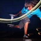 Hannes mit einer nachtaktiven Methode / Foto: Fabian Schreiter