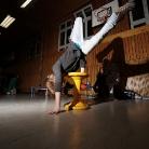 Lucke Hockwalker / Trick: Freeze / Sporthocker Training 2014 / Foto: Stephan Landschütz