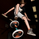 Lucke Hockwalker / Trick: 360° Tophocke / Sporthocker Training / Foto: Stephan Landschütz