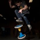 SL / Trick: 360° on top / Sporthocker Training / Foto: Stephan Landschütz