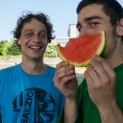 ML & Pixel / Watermelon / SALZIG Sporthocker @ YOU 2015 / Photo: Marc Pätznik