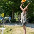 Hanna spinning around / SALZIG Sporthocker @ YOU 2015 / Photo: Stephan Landschütz